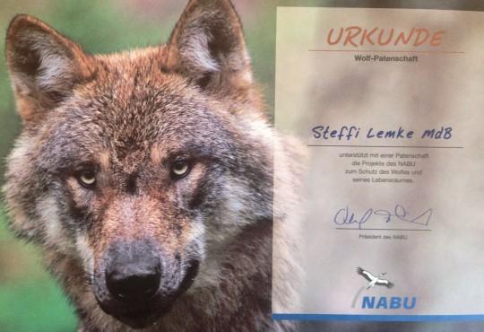 Wolfspatenschaft